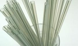 Pailles en PLA (bioplastique)