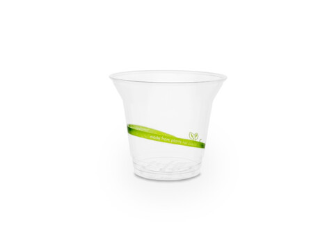 Gobelet à smoothie en PLA 200 ml/8oz, diamètre 9,6 cm Eco Print